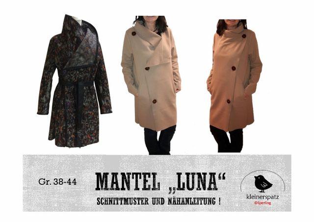 Produktfoto von kleinerspatz für Schnittmuster Mantel Luna