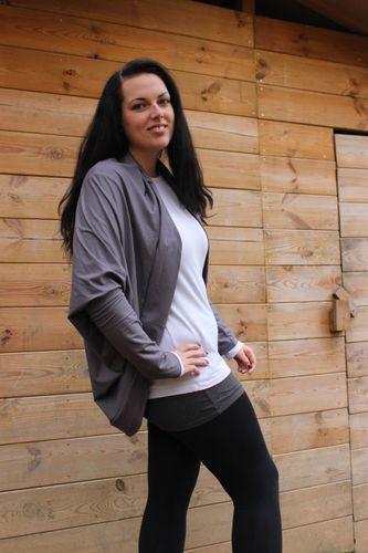 Produktfoto von kleinerspatz zum Nähen für Schnittmuster Jacke Ruckzuck