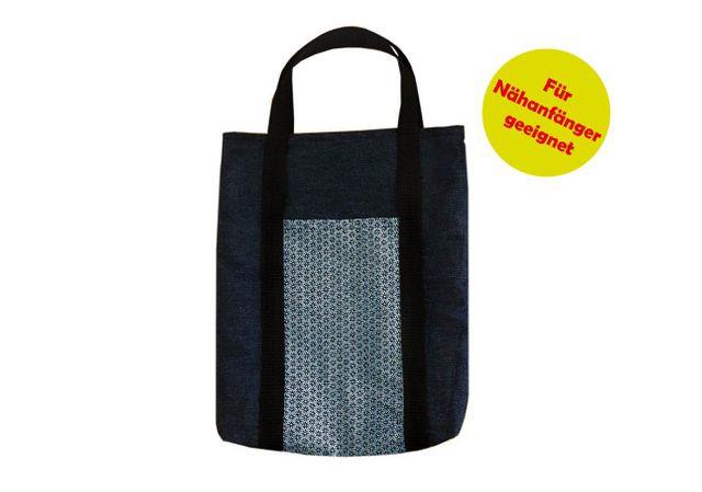 Produktfoto von Märzenbecher zum Nähen für Schnittmuster Shopper mit Außentasche