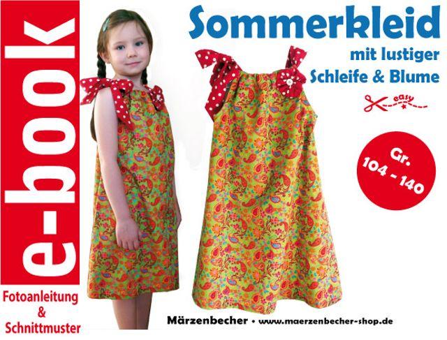 Produktfoto von Märzenbecher für Schnittmuster Sommerkleid