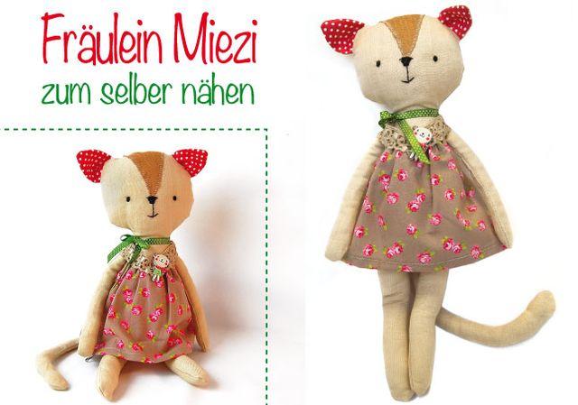 Produktfoto von Märzenbecher zum Nähen für Schnittmuster Fräulein Miezi