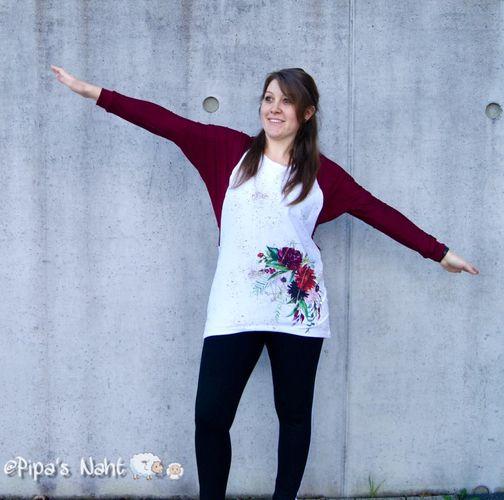 Produktfoto von Nähcram zum Nähen für Schnittmuster Fledermausshirt MissFlügelchen