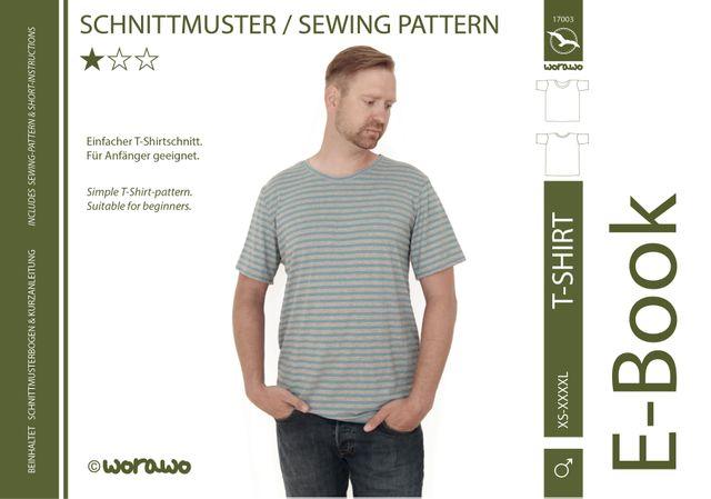 Produktfoto von worawo für Schnittmuster T-Shirt Herren