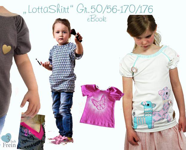 Produktfoto von 3fachFrein für Schnittmuster Lotta-Shirt