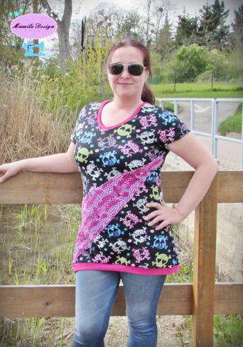 Produktfoto von Mamilu Design zum Nähen für Schnittmuster Shirt Miss Sunshine