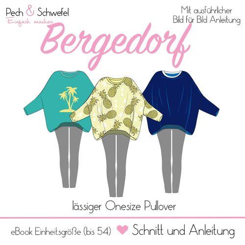 Produktfoto von Pech & Schwefel zum Nähen für Schnittmuster Bergedorf