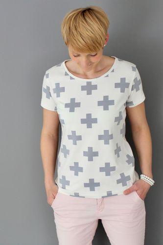 Produktfoto von Windschnittich zum Nähen für Schnittmuster Basic Shirt