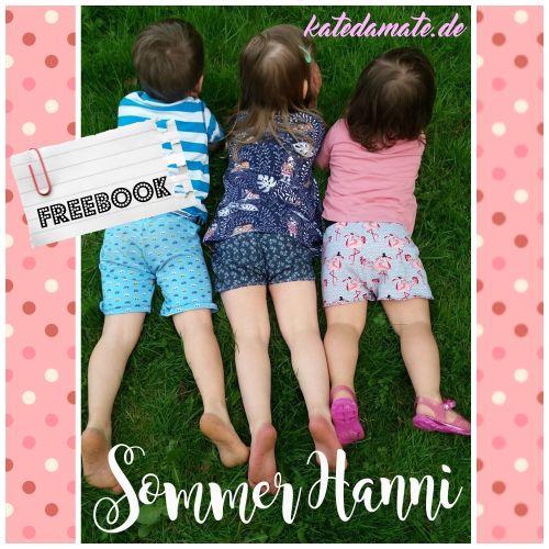 Produktfoto von Kate da Mate zum Nähen für Schnittmuster Sommer Hanni