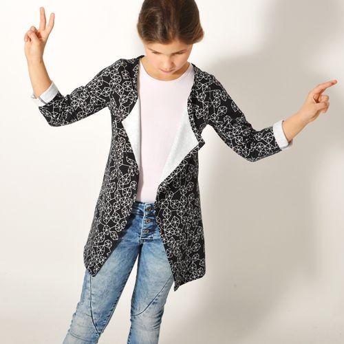 Produktfoto von Leni Pepunkt zum Nähen für Schnittmuster CHILL.jacke4Teenies