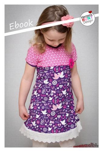 Produktfoto von Herzensbunt Design zum Nähen für Schnittmuster Jerseykleid Zuckerschnecke