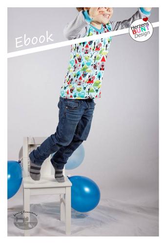 Produktfoto von Herzensbunt Design zum Nähen für Schnittmuster Sunny Side Up - Cool Boys