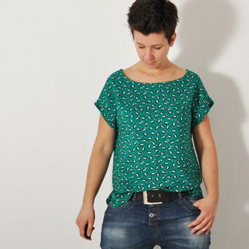 Produktfoto von Leni Pepunkt für Schnittmuster SOMMER.bluse