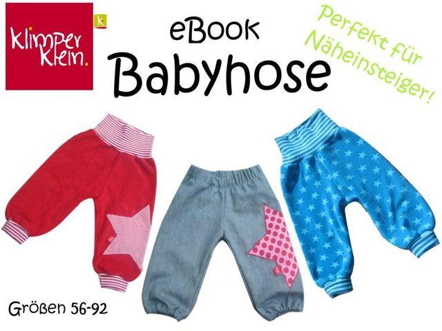 Produktfoto von klimperklein zum Nähen für Schnittmuster Babyhose