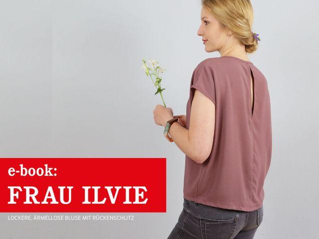 Produktfoto von schnittreif für Schnittmuster Frau Ilvie