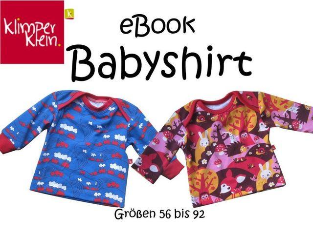 Produktfoto von klimperklein zum Nähen für Schnittmuster Babyshirt