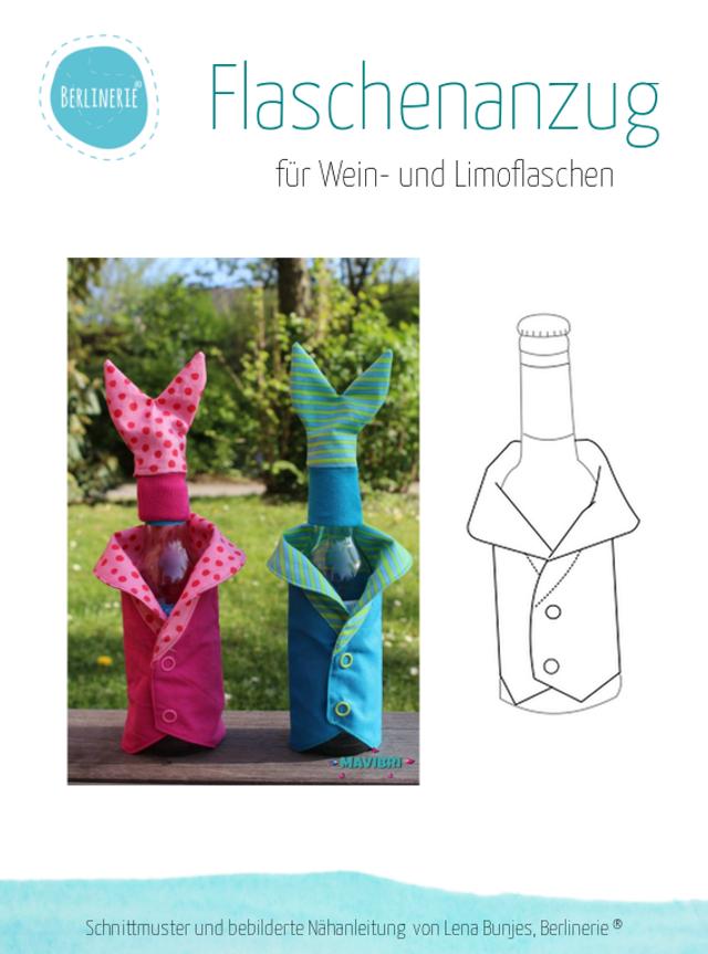 Produktfoto von Berlinerie zum Nähen für Schnittmuster Flaschenanzug Osterhase