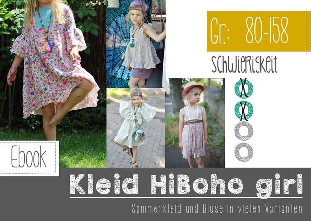 Produktfoto von FeeFee zum Nähen für Schnittmuster HiBoho Girl