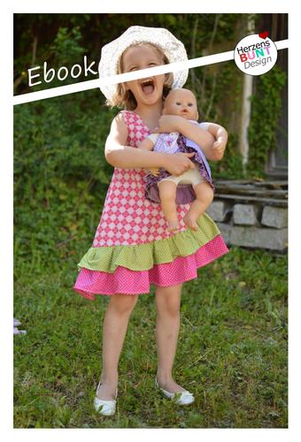 Produktfoto von Herzensbunt Design zum Nähen für Schnittmuster Daisy Dress