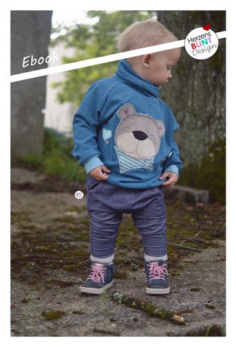 Produktfoto von Herzensbunt Design zum Nähen für Schnittmuster Höhlenbär