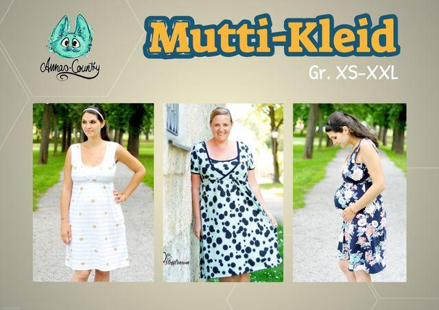 Produktfoto von Annas-Country zum Nähen für Schnittmuster Mutti-Kleid