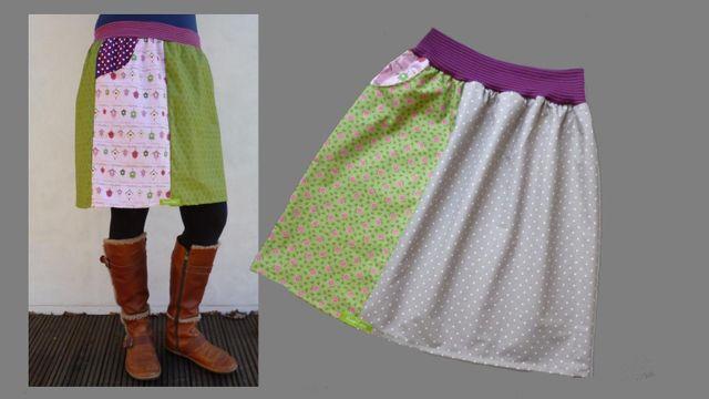 Produktfoto von Kleine Lotta Hohenberg für Schnittmuster Damenrock Berta