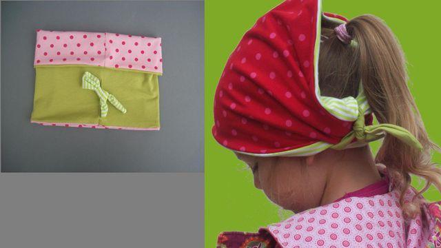 Produktfoto von Kleine Lotta Hohenberg für Schnittmuster Wende-Loop BANA 2IN1