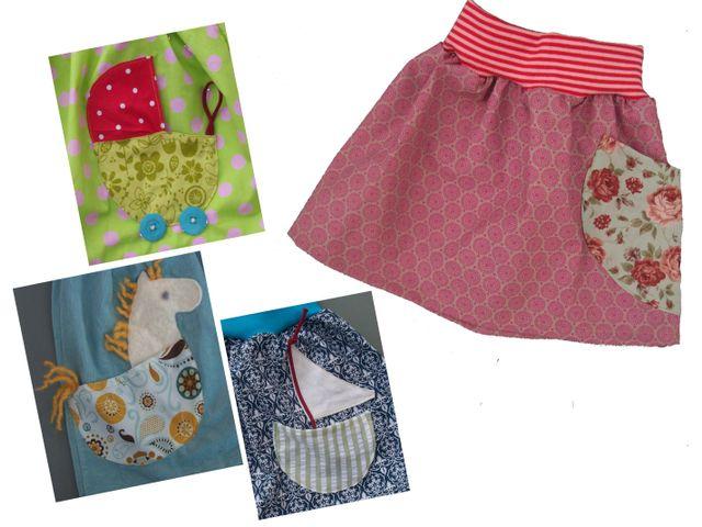 Produktfoto von Kleine Lotta Hohenberg für Schnittmuster Kinderrock ANNA