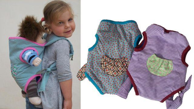 Produktfoto von Kleine Lotta Hohenberg für Schnittmuster Puppentrage LOTTI