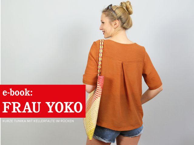 Produktfoto von schnittreif für Schnittmuster Frau Yoko