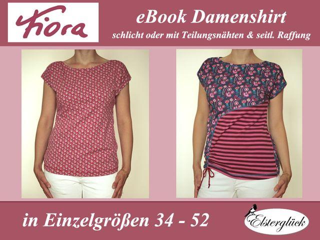 Produktfoto von Elsterglück für Schnittmuster Fiora