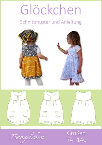 Produktfoto von 73engelchen für Schnittmuster Sommerkleid Glöckchen