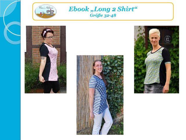 Produktfoto von Caro's Nähseum zum Nähen für Schnittmuster Long 2 Shirt