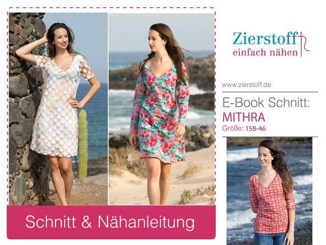 Produktfoto von Zierstoff für Schnittmuster Mithra