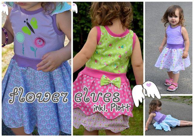Produktfoto von Engelinchen zum Nähen für Schnittmuster Sommerkleid Flower Elves