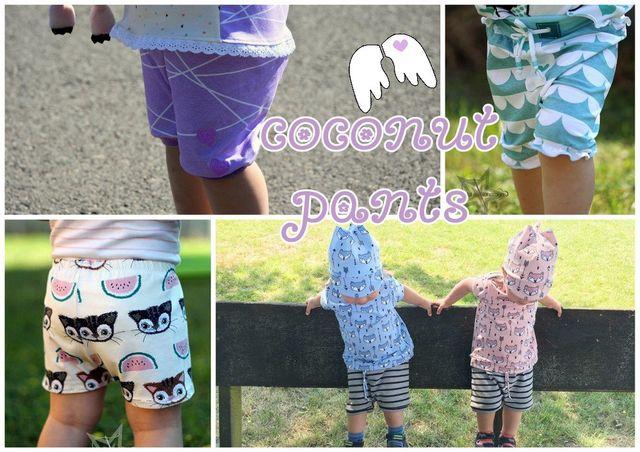 Produktfoto von Engelinchen zum Nähen für Schnittmuster Coconut Pants