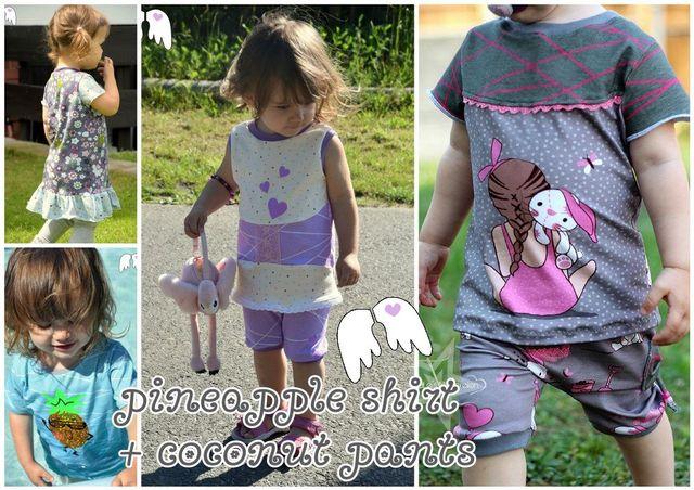 Produktfoto von Engelinchen für Schnittmuster Pineapple Shirt