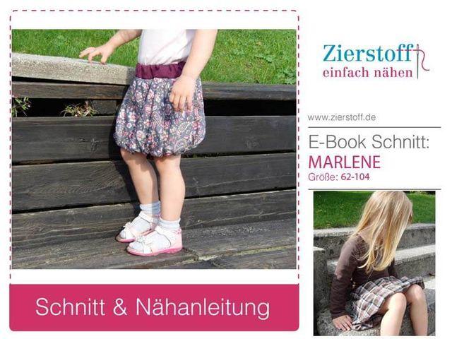 Produktfoto von Zierstoff zum Nähen für Schnittmuster Marlene 62-104