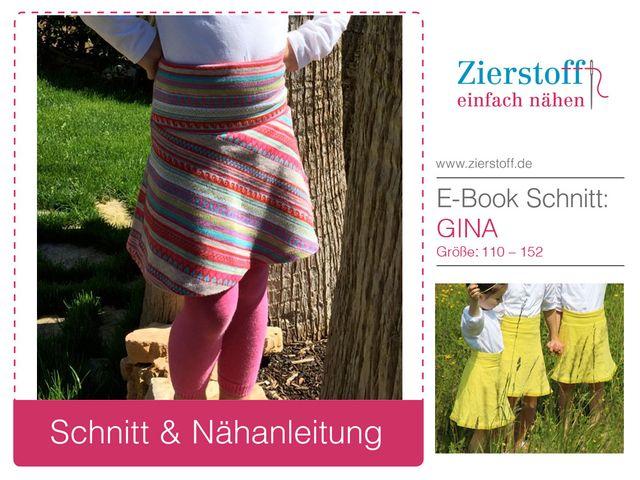 Produktfoto von Zierstoff zum Nähen für Schnittmuster Gina 110-152