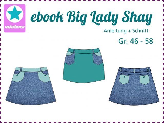 Produktfoto von mialuna zum Nähen für Schnittmuster Big Lady Shay