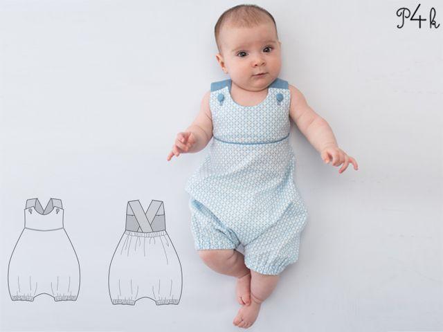 Produktfoto von Pattern 4 kids zum Nähen für Schnittmuster Phil