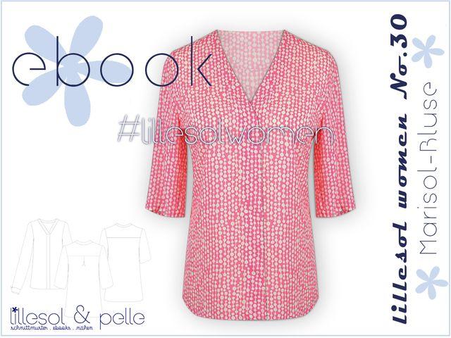 Produktfoto von Lillesol & Pelle zum Nähen für Schnittmuster Lillesol women No.30 Marisol-Bluse
