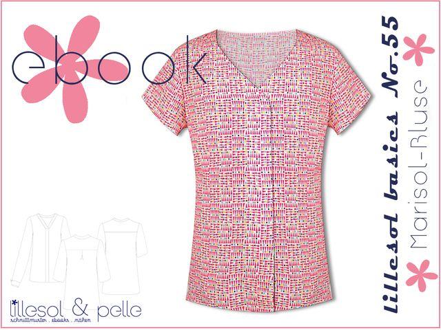 Produktfoto von Lillesol & Pelle zum Nähen für Schnittmuster Lillesol basics No.55 Marisol-Bluse