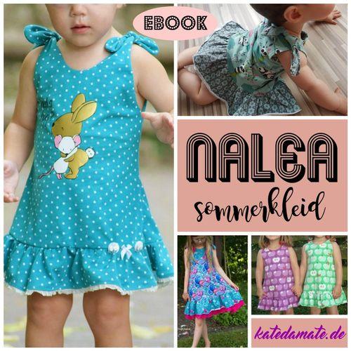 Produktfoto von Kate da Mate zum Nähen für Schnittmuster Sommerkleid Nalea