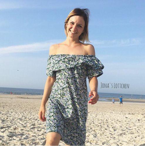 Produktfoto von Kid5 zum Nähen für Schnittmuster #56 Off/Over-Shoulder Dress & Blouse