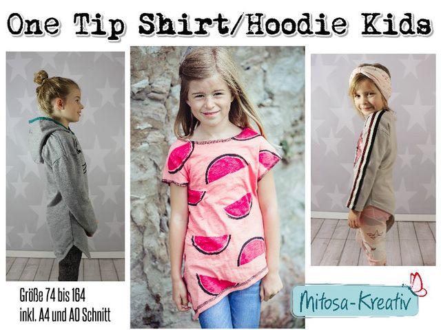 Produktfoto von MiToSa-Kreativ zum Nähen für Schnittmuster One Tip Shirt