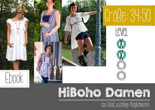 Produktfoto von FeeFee zum Nähen für Schnittmuster HiBoho Damen