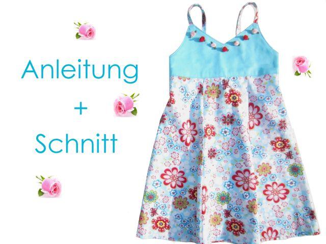 Produktfoto von Lunicum zum Nähen für Schnittmuster Kleid Nele