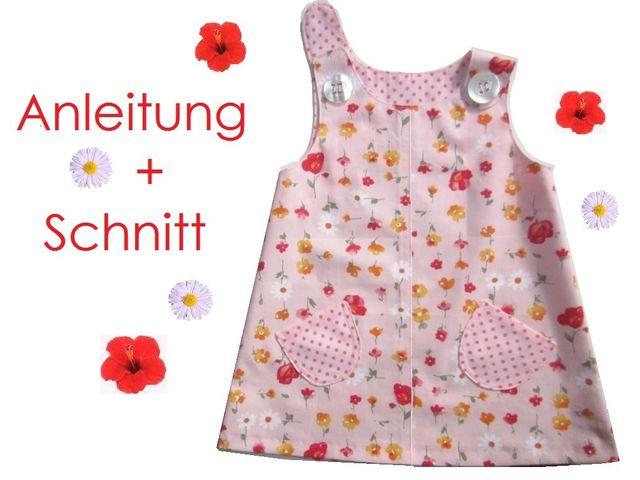 Schnittmuster Hänge-Kleid für Kleinkinder von Lunicum