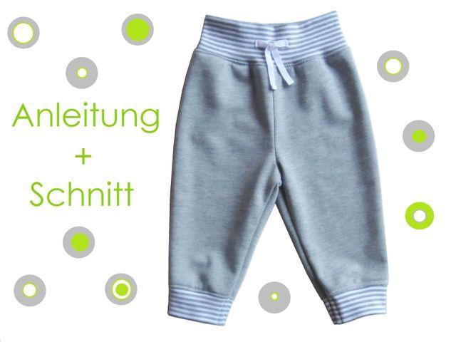 Produktfoto von Lunicum für Schnittmuster Jogginghose Babys/Kleinkinder