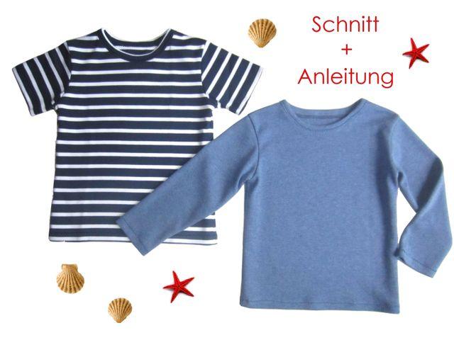 großer Lagerverkauf großer rabatt von 2019 hell im Glanz Schnittmuster Kinder T-Shirt von Lunicum